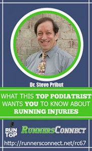 RunnersConnect Podcast Interview with Dr. Pribut